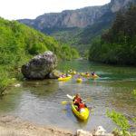 canoe groupe gorges du tarn