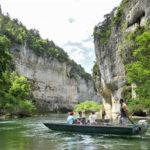 descente en barque les bateliers des gorges du tarn